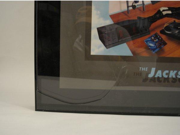 "580:  ""Jacksons With Yamaha"" Advertising Art - 2"