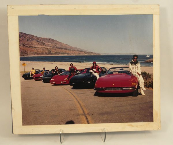 585: Jacksons with Ferraris Victory Tour Photograph