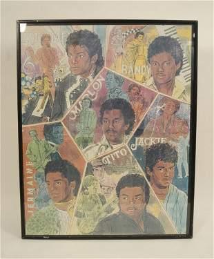 586: Jacksons Artistic Poster