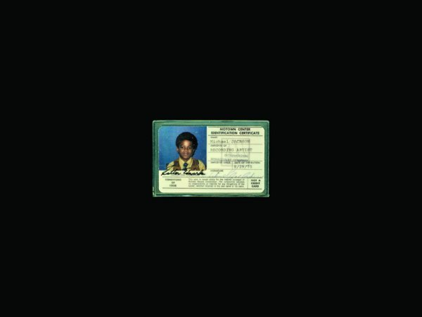 761A: Michael Jackson's Motown Identity Card