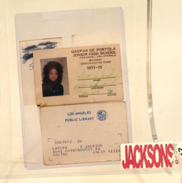 872: LaToya Jackson Childhood Ephemera