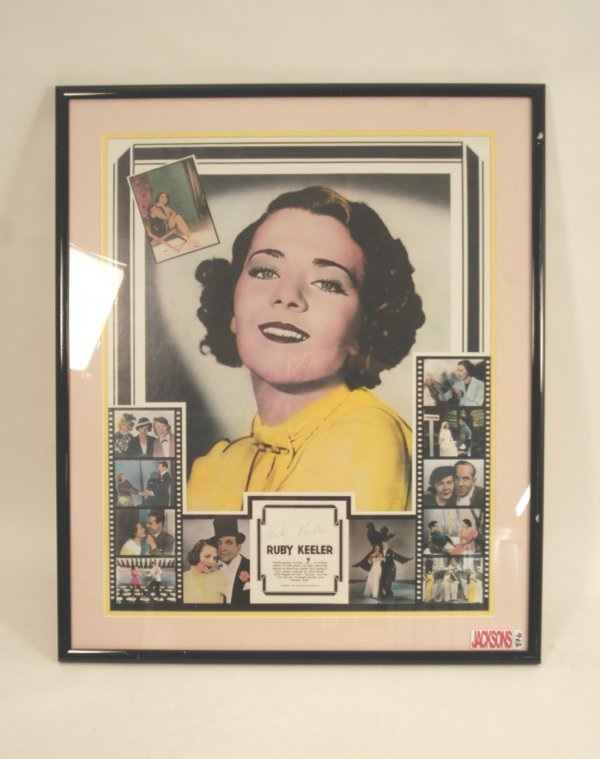 876: Ruby Keeler Signed Lithograph