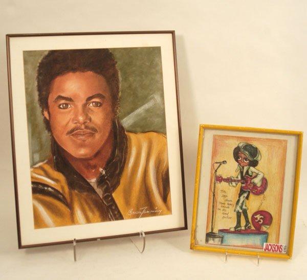 "877: Tito Jackson ""Victory Tour"" Photo and Fan Art"