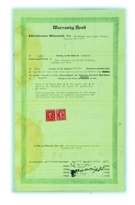 879: Jackson Family Ancestral Documents, 20s-50s