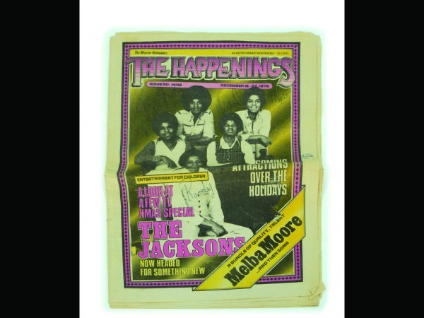 881: The Jacksons Signed Newsweekly, 1976