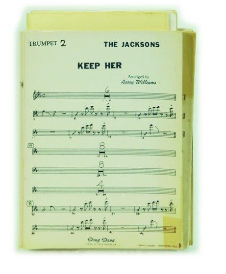 882: Original Jacksons Musical Arrangements, 1987