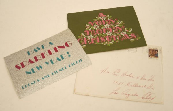 883: Jackson 5 Christmas Card Collection