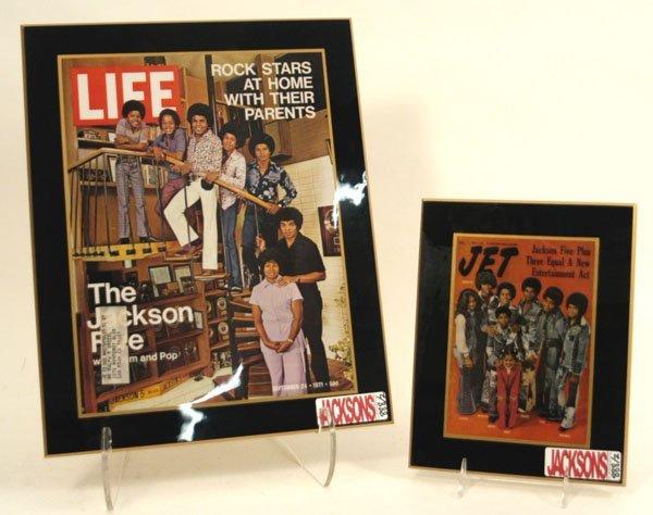 888: Jacksons JET and LIFE Magazine Covers, c. 70s,