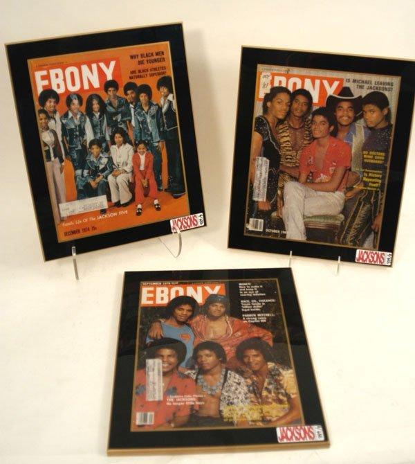 "889: Jackson Five ""Ebony"" Magazine Covers c. 70s,"