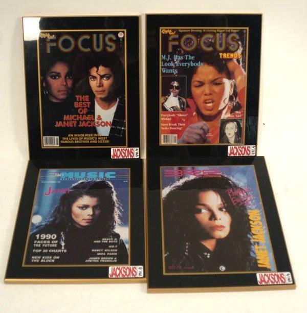 890: Janet Jackson Magazine Covers, c. 80s