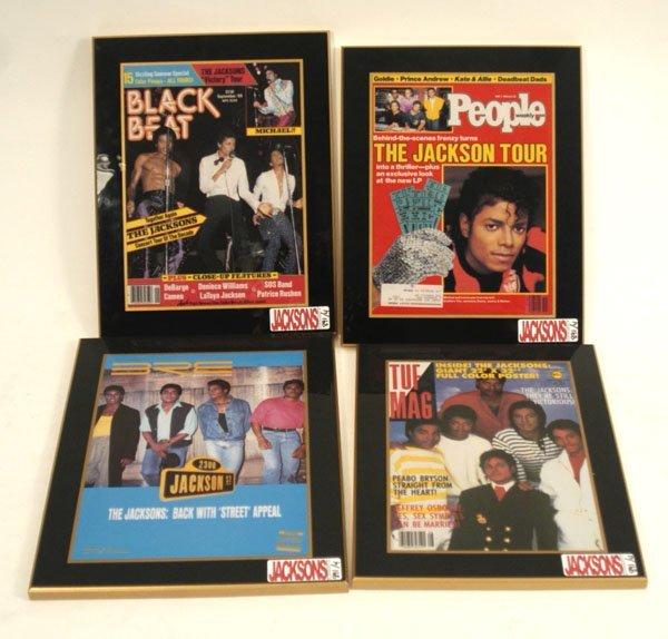 891: Jackson Five Magazine Covers, C. 80s.