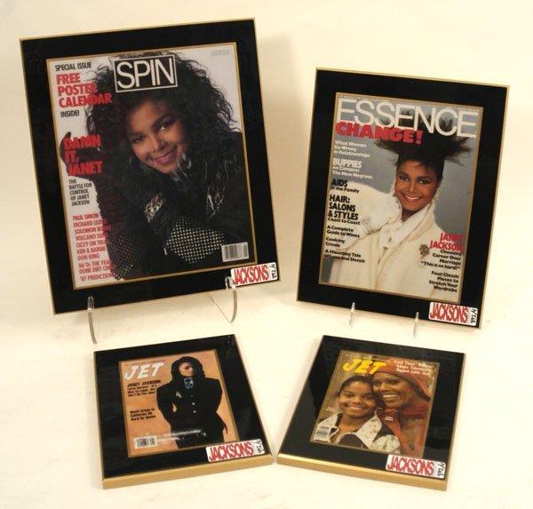 892: Janet Jackson Magazine Covers, c. 80s