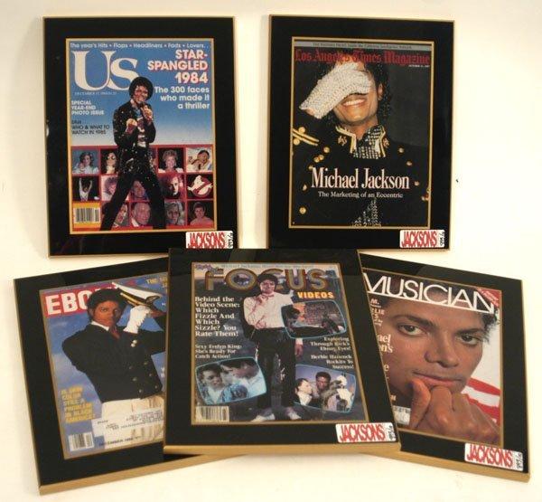 893: Michael Jackson Magazine Covers, c. 80s