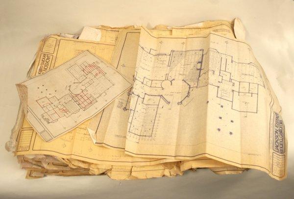 923:  Jackson Family Encino, CA Estate Blueprints