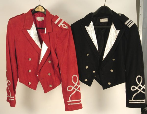 953: Pair of Michael Jackson's  Suede Jackets