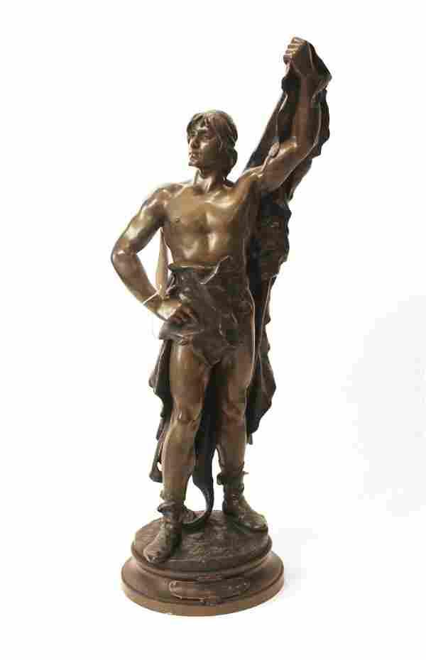 Eugene Marioton Bronze, Jeunesse d'Hercule