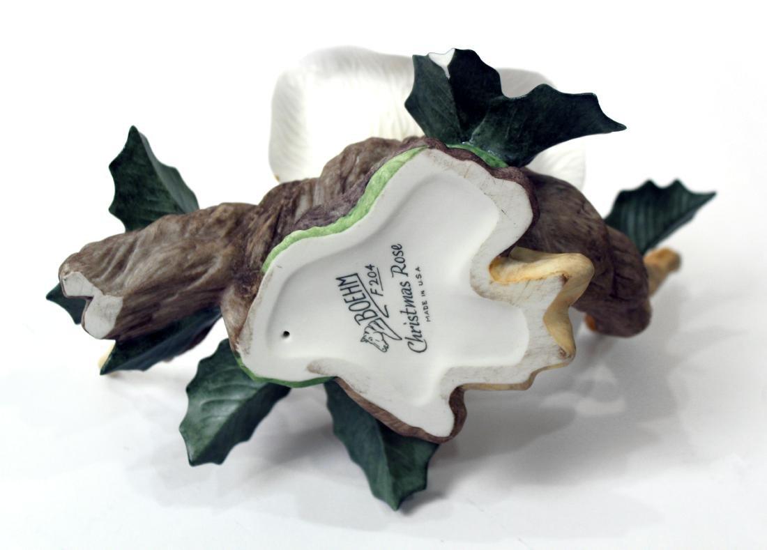 Boehm Porcelain Flower. Christmas Rose - 2