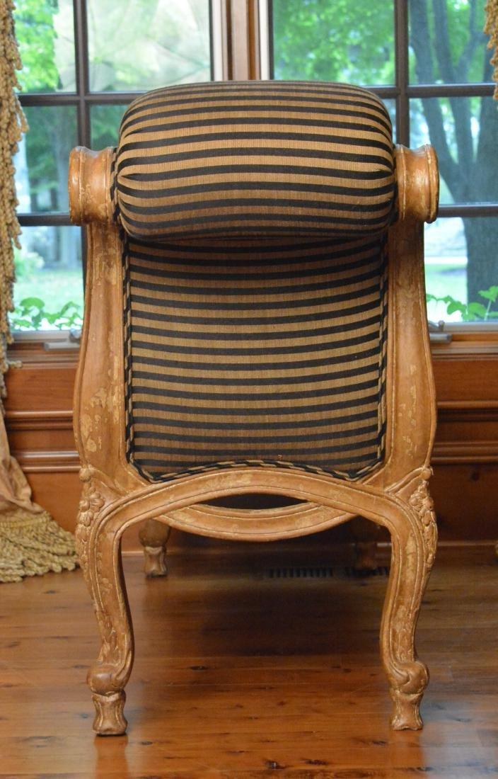Pair Louis XV Style Boudoir Benches - 2