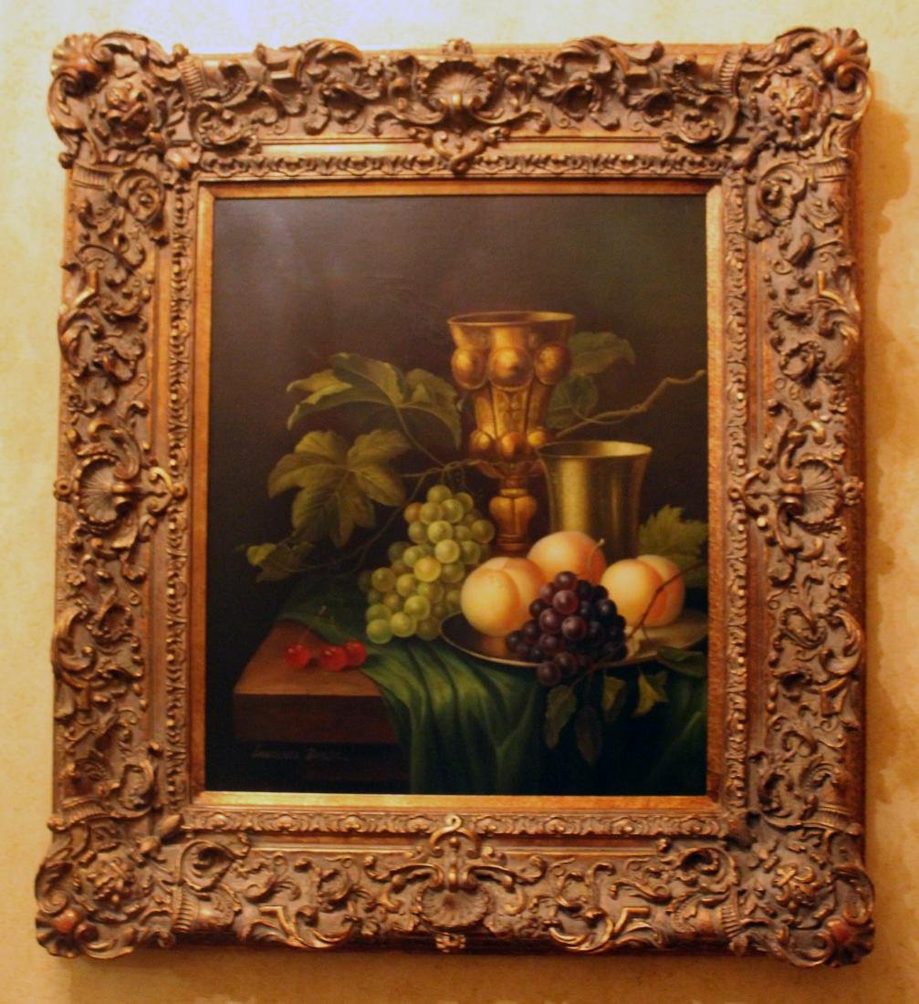 Becker, Lawrence, Oil. Still Life.