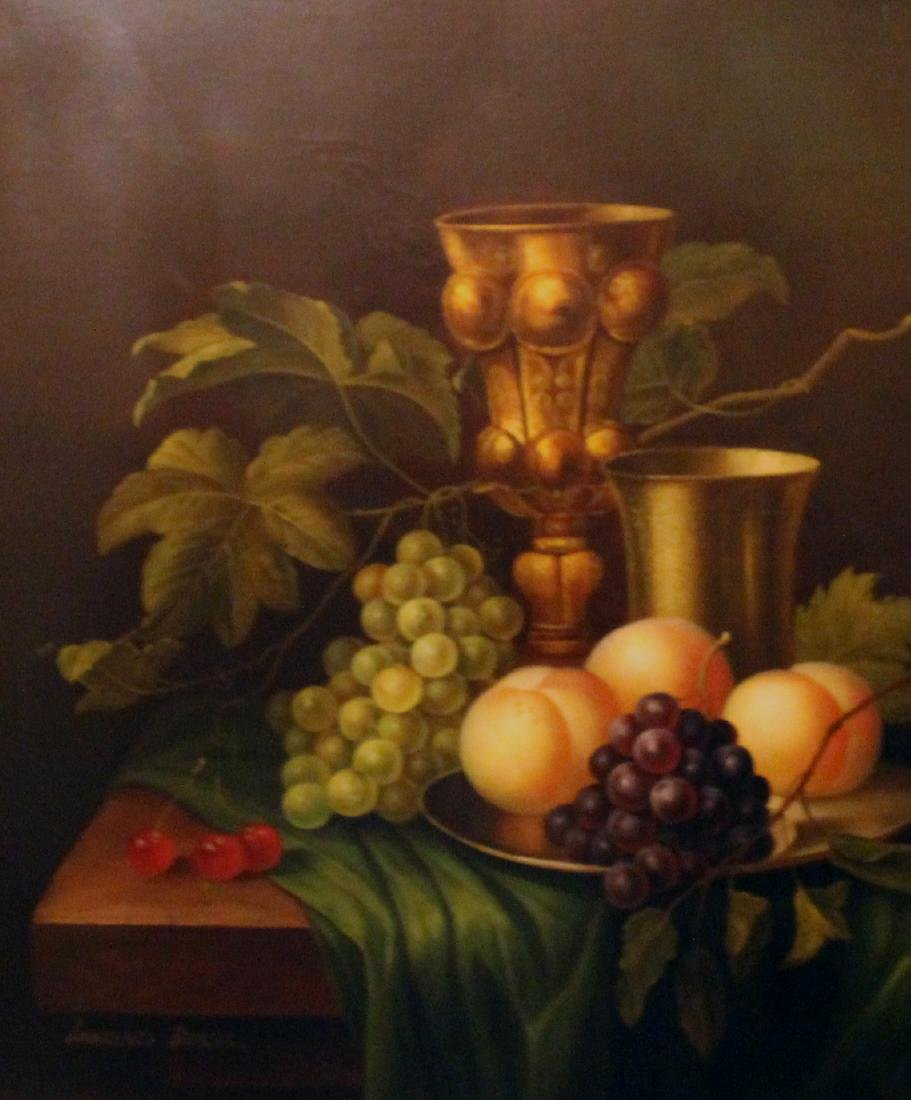 Becker, Lawrence, Oil. Still Life. - 2