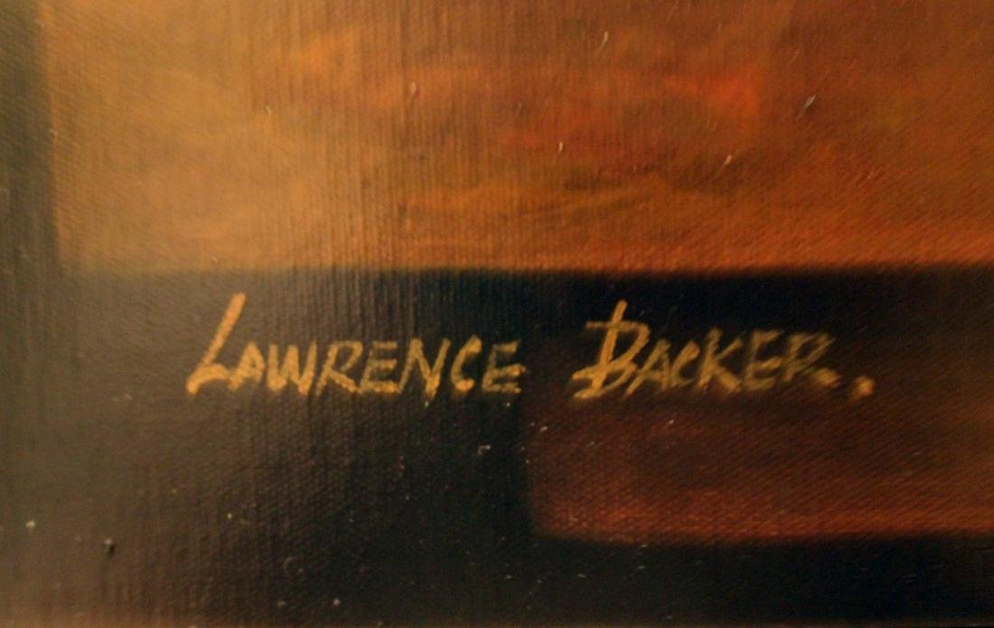 Becker, Lawrence, Oil. Still Life. - 3