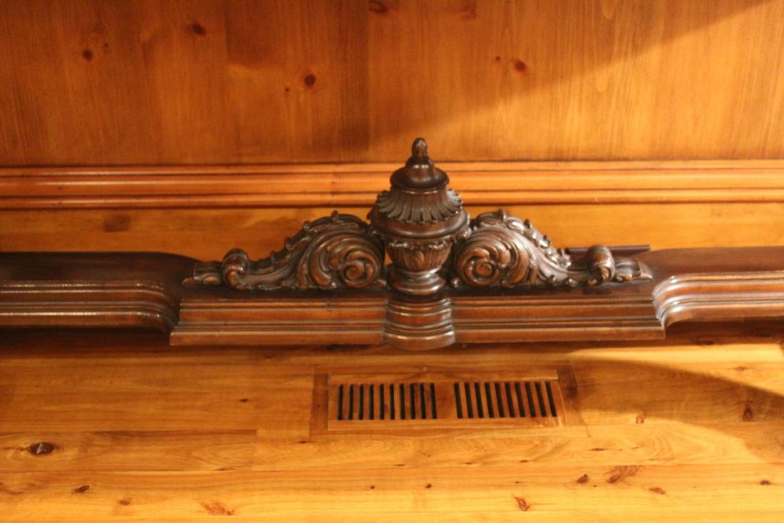 Victorian Style Marble Topped Console Table - 3