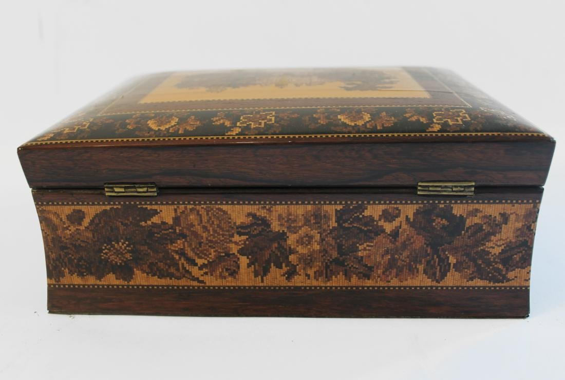 19th Century French Marquetried Jewel Box - 3