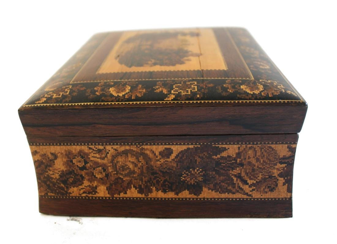 19th Century French Marquetried Jewel Box - 4