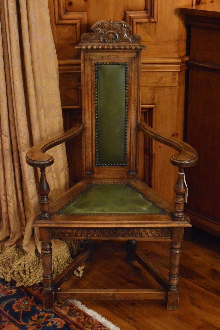 Jacobean Style Carved Dining  Chairs (8) - 2