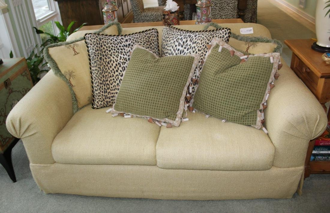 Pair of Decorator Sofas - 3