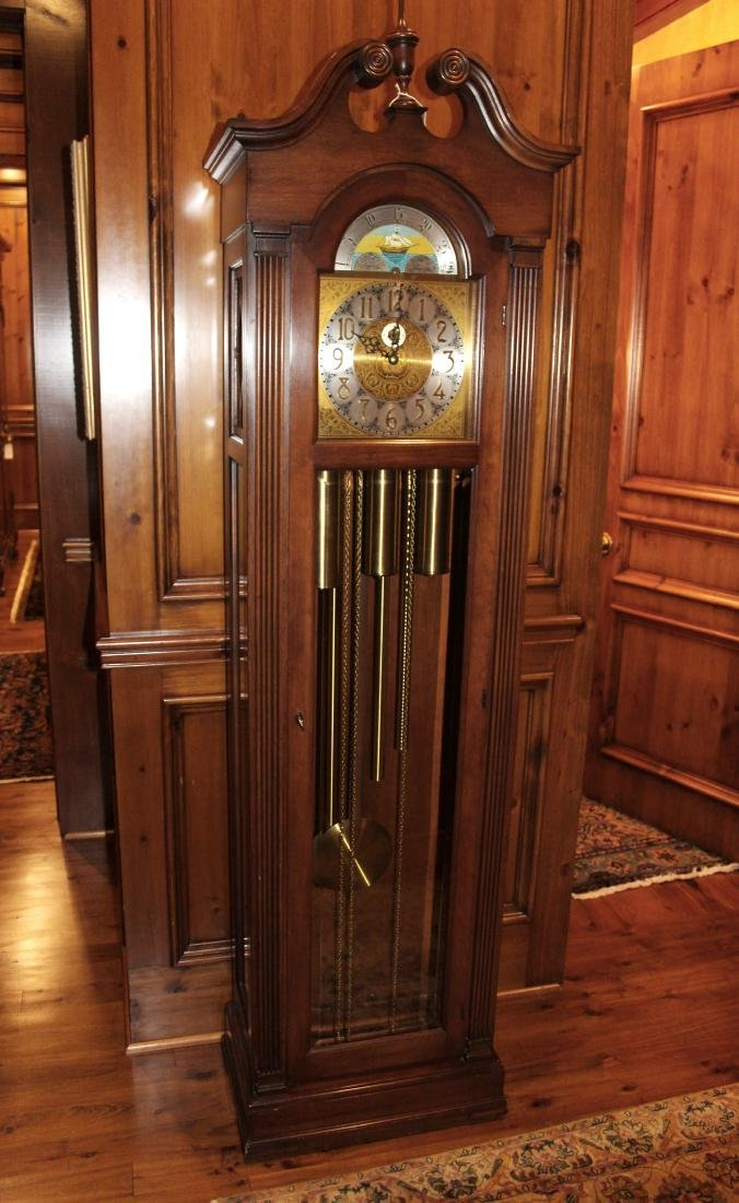 West German Tall Case Clock