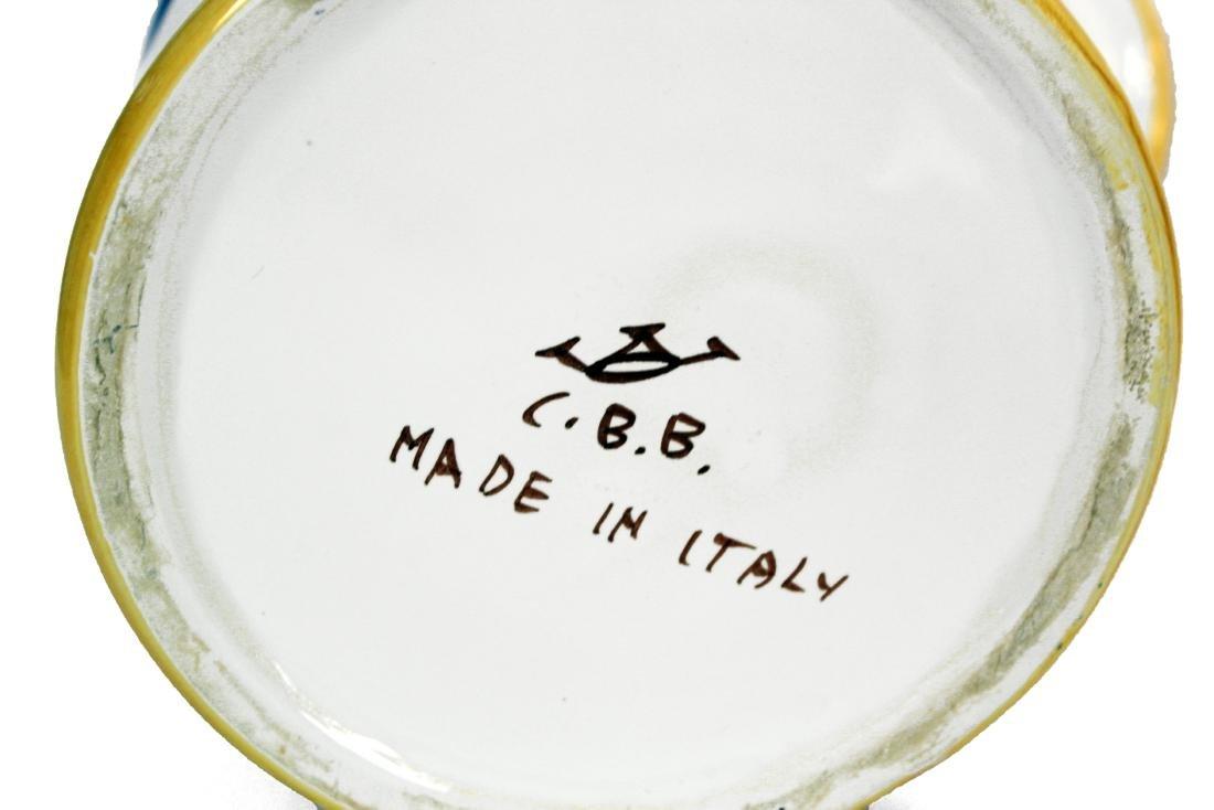 White Italian Pottery Kitchen Items - 3