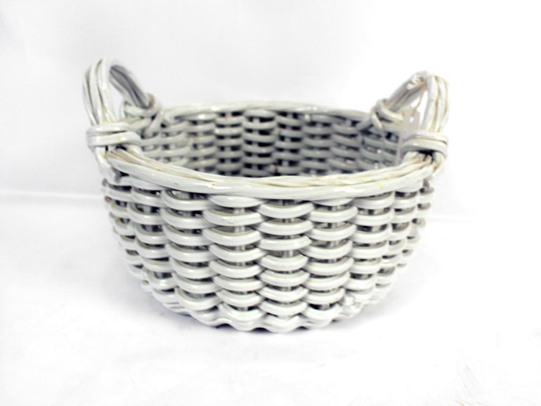 White Italian Pottery Kitchen Items - 4