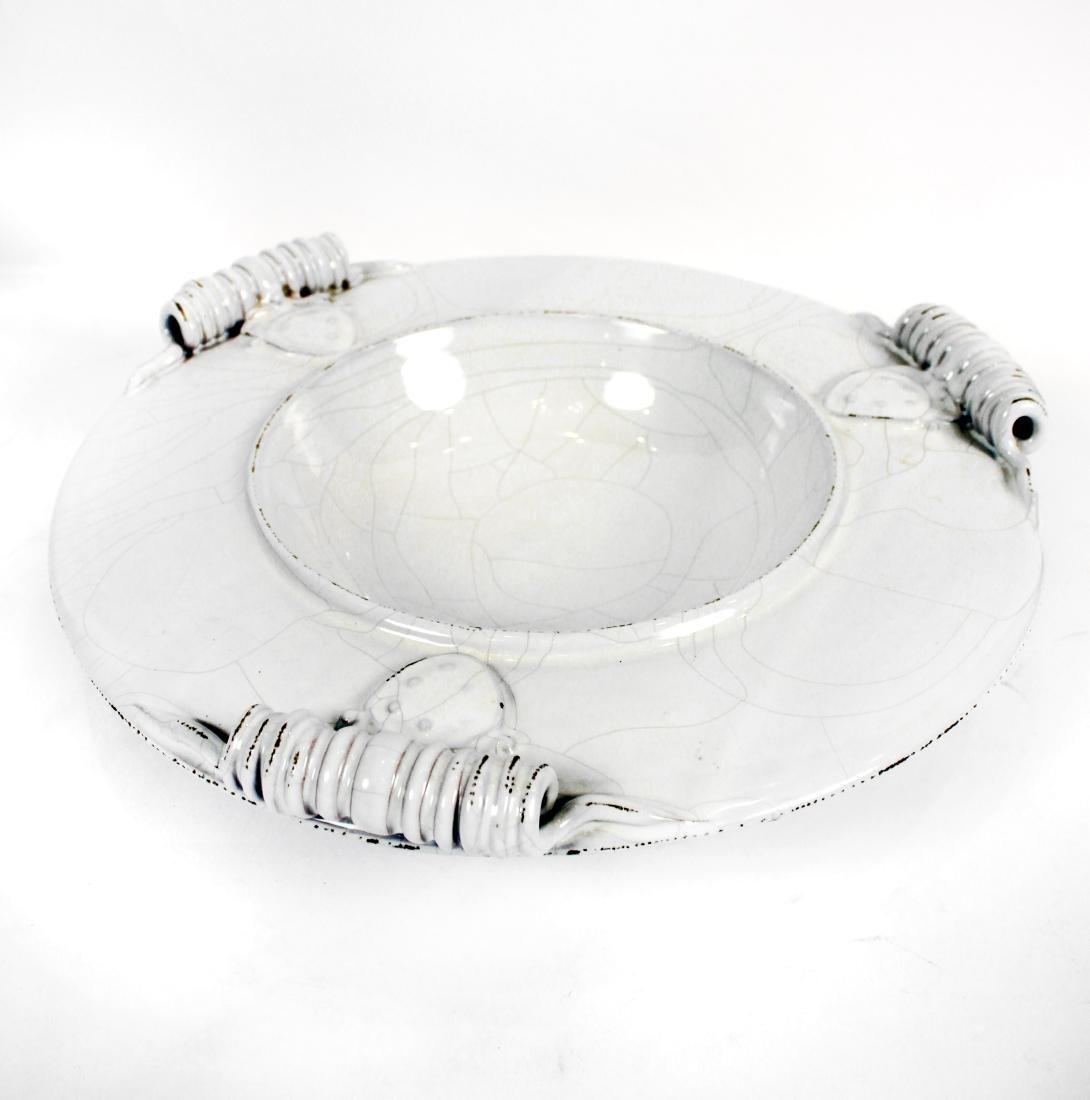 White Italian Pottery Kitchen Items - 5