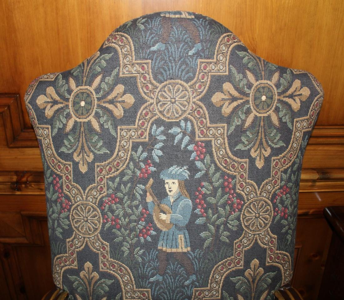 Pair of Louis XIV Style Armchairs - 4