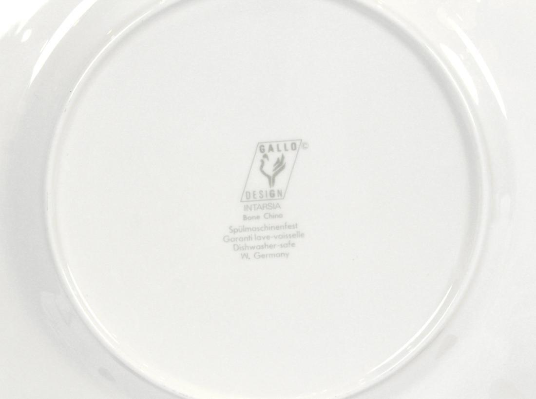 Gallo Bone China Service. Intarsia (100) - 7