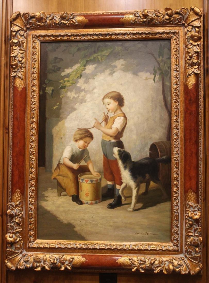 Calvin Broome, Oil. Young Boys