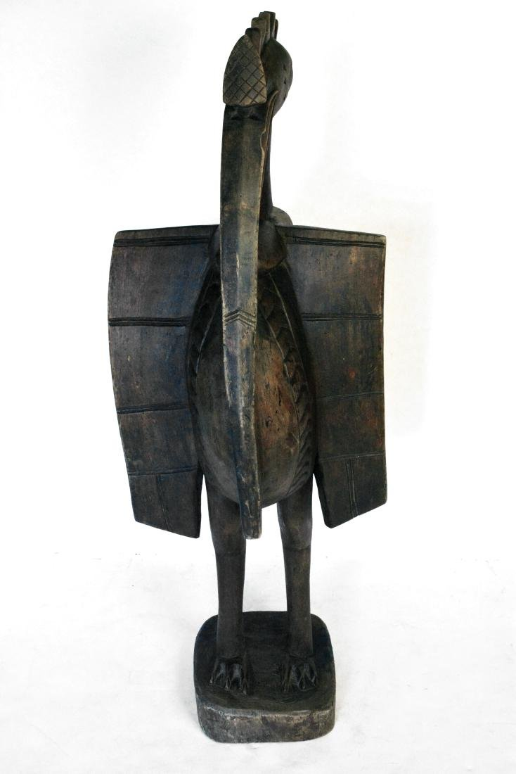African Sunufo Carved Bird