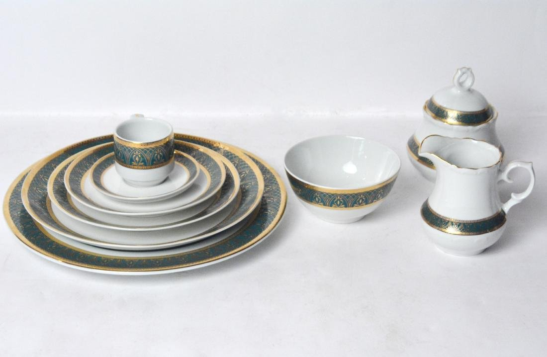 Moroccan China (196 Pieces )