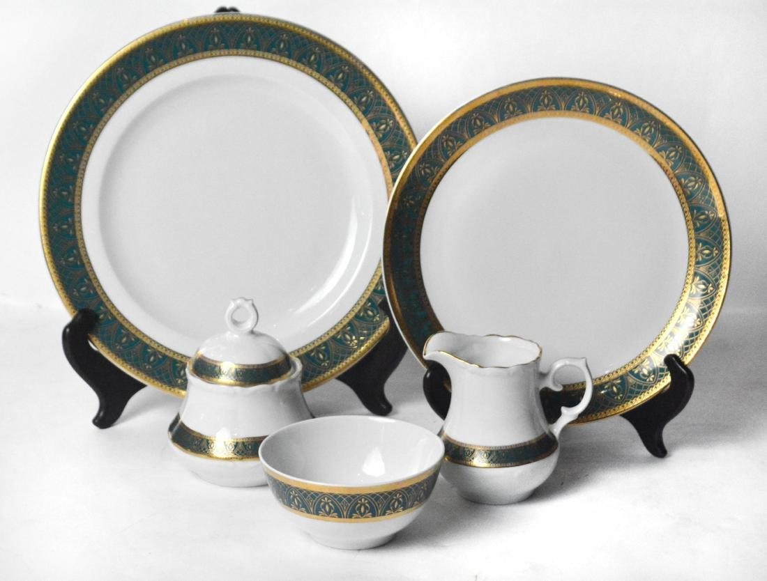 Moroccan China (196 Pieces ) - 2