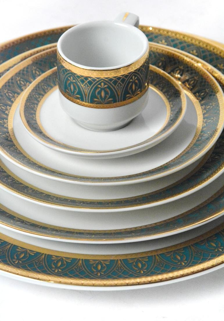 Moroccan China (196 Pieces ) - 5