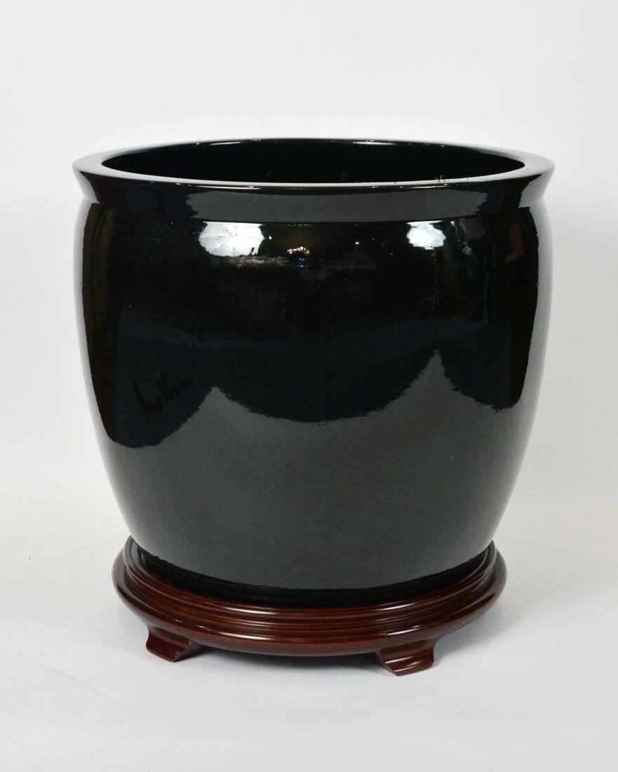 Gainey Pottery Planters on Stands (3)
