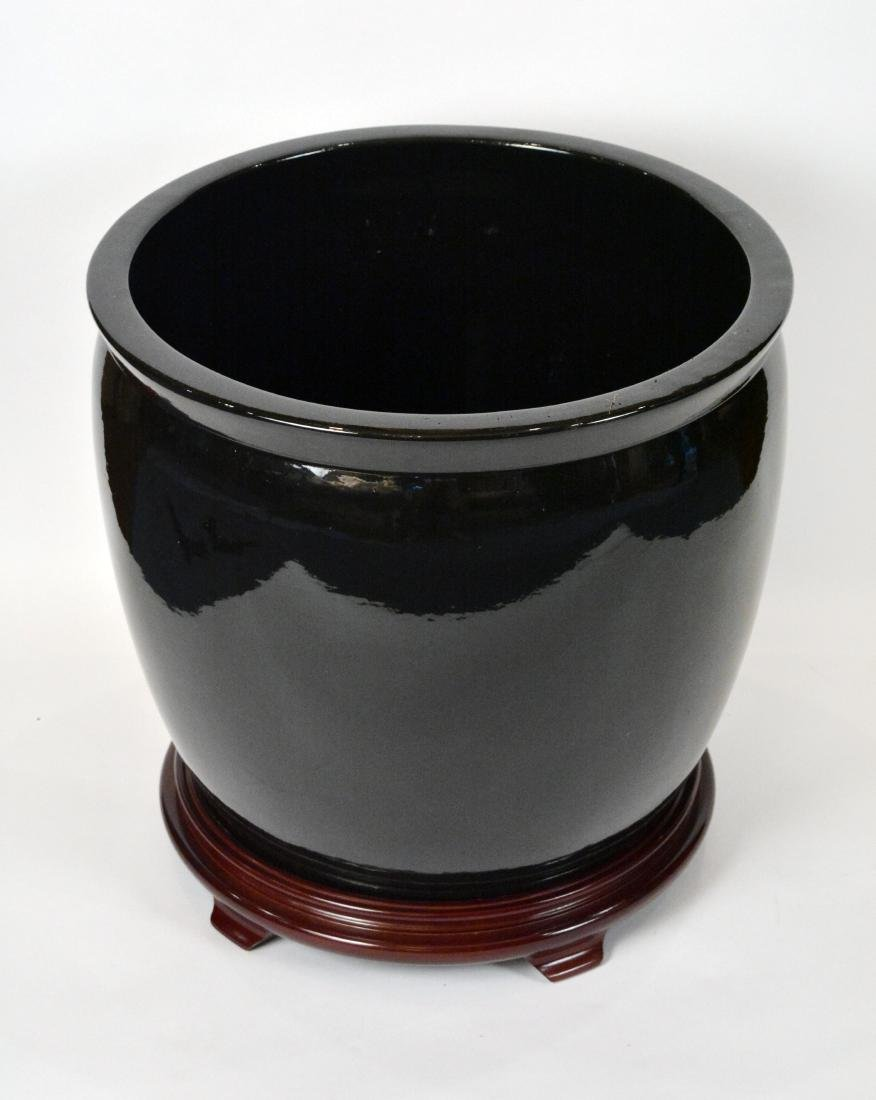 Gainey Pottery Planters on Stands (3) - 2