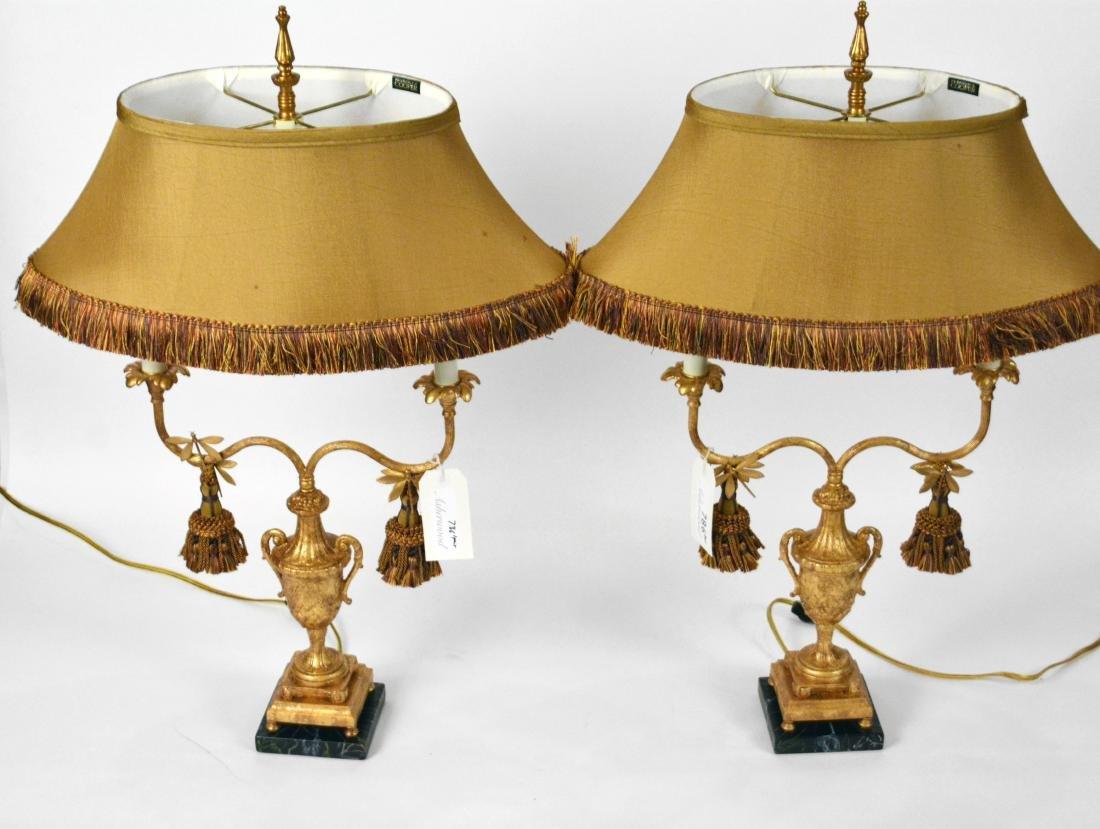 Pair of Frederick Cooper Classical Lamps