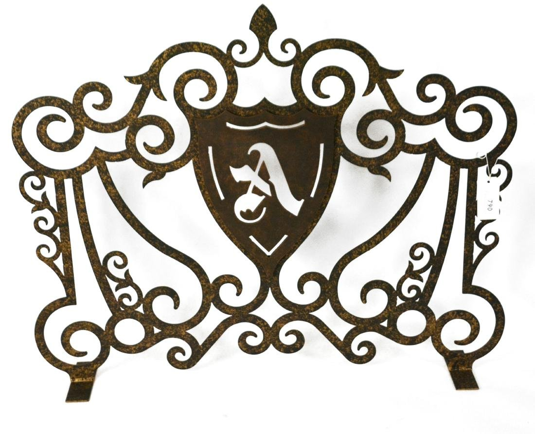 Wrought Iron Fireplace Frontispiece