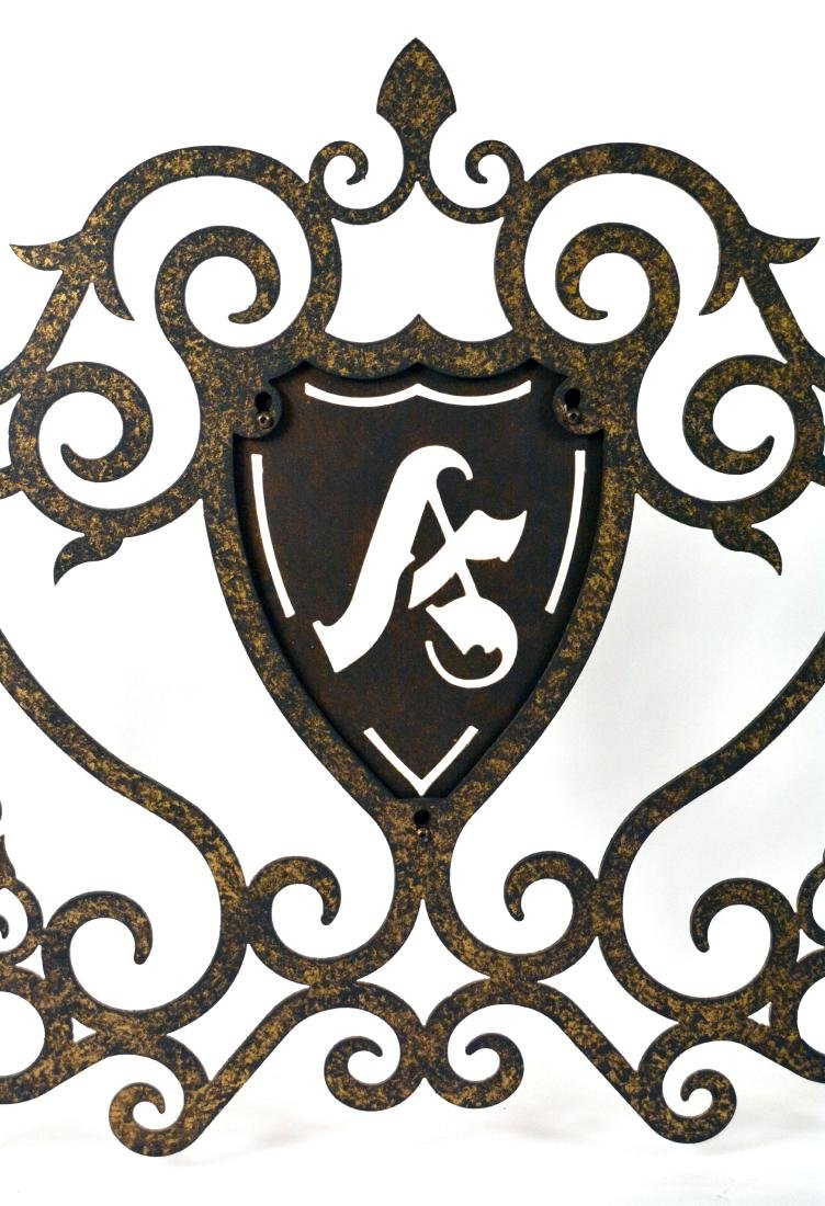 Wrought Iron Fireplace Frontispiece - 2