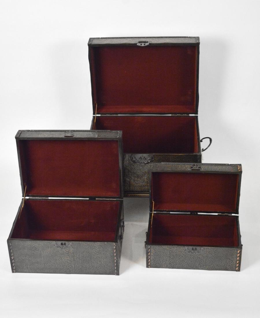 Set of Decorator Chests (3) - 2