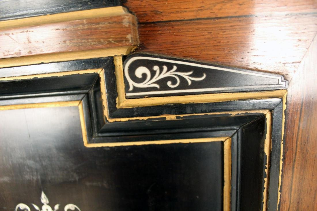 Pair of 19th Century Mother of Pearl Inlaid Cabinet - 4