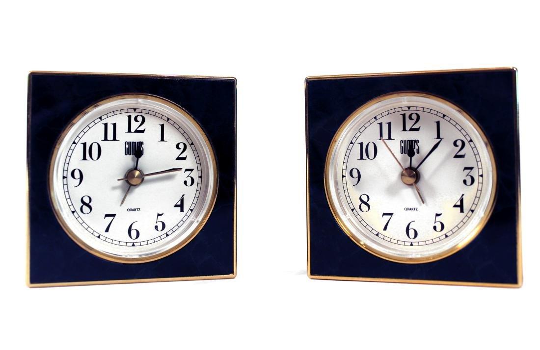 Two Gumps Quartz Alarm Clocks