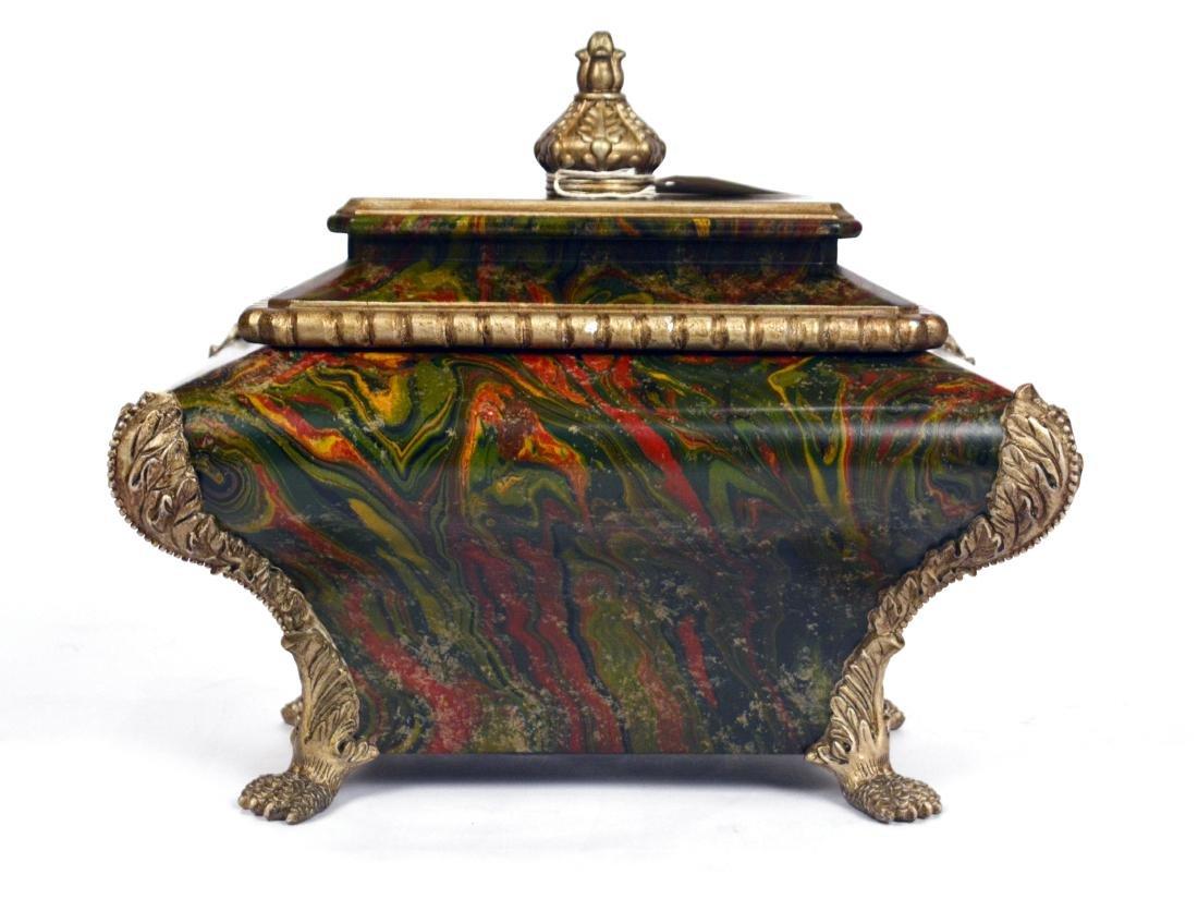 Marbleized Box